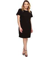 MICHAEL Michael Kors - Plus Size Grid Texture Knit Dress