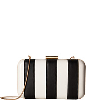 Alice + Olivia - Shirley Striped Large Clutch
