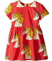 mini rodini - Unicorn Star Woven Dress (Infant/Toddler/Little Kids/Big Kids)
