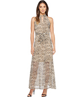 Calvin Klein - Printed Maxi with Tie Belt