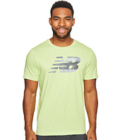 New Balance - Heather Tech Short Sleeve NB Graphic