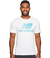 New Balance - Essentials Filled Logo Tee