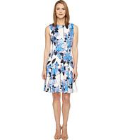 Ivanka Trump - Printed Scuba Dress