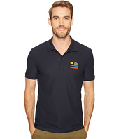 Lacoste - Short Sleeve 3 Stripe at Chest Croc Stretch Noppe Textured Pique Regular