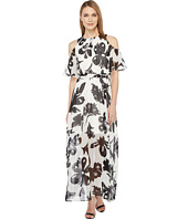 Calvin Klein - Pop Over Chiffon Maxi Dress