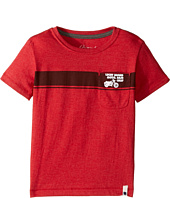 Lucky Brand Kids - Moto Tee Heather Jersey Short Sleeve (Toddler)