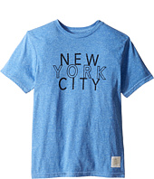 The Original Retro Brand Kids - New York City Tri-Blend Short Sleeve Tee (Big Kids)