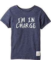 The Original Retro Brand Kids - I'm in Charge Short Sleeve Tri-Blend Tee (Little Kids/Big Kids)
