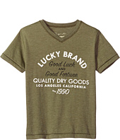 Lucky Brand Kids - Good Fortune Short Sleeve Tee (Big Kids)