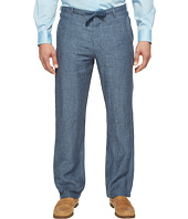 Perry Ellis - Drawstring Linen Pants