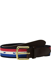 Vineyard Vines - USA Stripe Canvas Club Belt