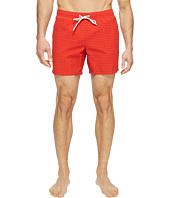 Lacoste - Taffeta Gingham Swim Short Length