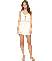 Seafolly - Botanica Tie Front Playsuit Cover-Up