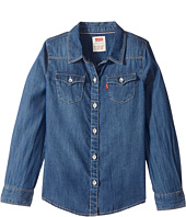 Levi's® Kids - The Western Long Sleeve Denim Top (Toddler)