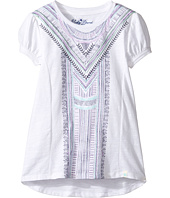 Lucky Brand Kids - Short Sleeve Embroidered Voyage Top (Little Kids)