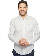 Lacoste - Long Sleeve Cotton Voile Slim Fit