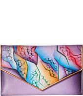 Anuschka Handbags - 1006 Check Book Wallet