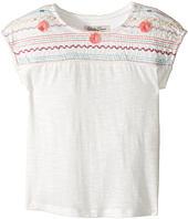Lucky Brand Kids - Embroidered Drop Shoulder Top (Toddler)