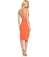 Laundry by Shelli Segal - Crisscross Back Spaghetti Strap Cocktail Dress