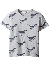Paul Smith Junior - Short Sleeve Dinosaur All Over Printed Tee (Big Kids)