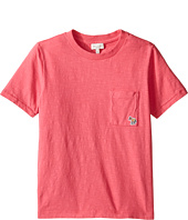 Paul Smith Junior - Short Sleeve Fuchsia Tee with Pocket (Big Kids)