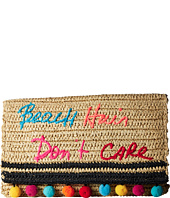 Rebecca Minkoff - Beach Hair Dont Care Straw Clutch