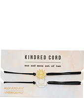 Alex and Ani - Sun and Moon Kindred Cord Charm Bracelet