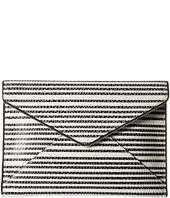 Rebecca Minkoff - Striped Snake Leo Clutch
