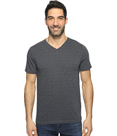Agave Denim - Hal Short Sleeve V-Neck Tri-Blend Jersey Stripe Block