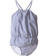 Seafolly Kids - Cute D'Azure Blouson Tank One-Piece (Toddler/Little Kids)