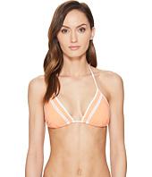 Jonathan Simkhai - Lace-Up Triangle Bikini Top