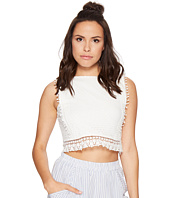 Bishop + Young - Backless Crochet Crop