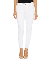 Liverpool - Petite Penny Ankle Skinny on Super Soft Stretch Denim in Bright White