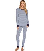 DKNY - Long Sleeve Top & Leggings PJ Set