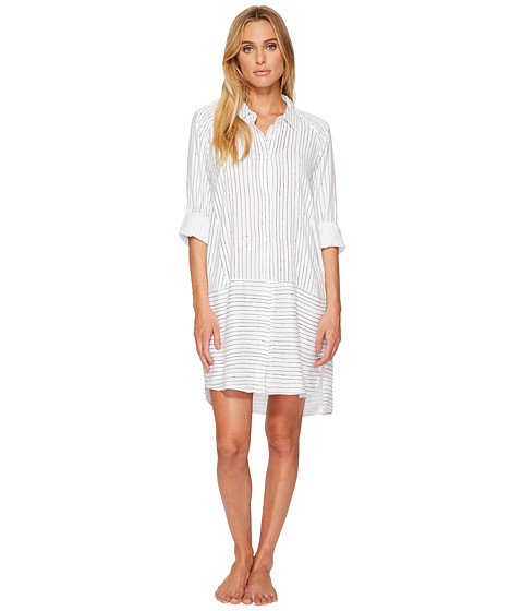 DKNY Flannel Long Sleeve Sleepshirt