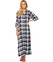 DKNY - Flannel Long Sleeve Maxi