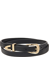 Steve Madden - Leather Wrap Around Choker Necklace