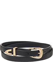 Steve Madden - Leather Wrap Around Choker Necklace