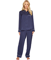 DKNY - Washed Satin Notch Collar PJ Set