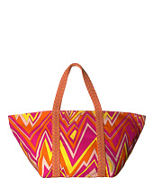 M Missoni - Zigzag Canvas Beach Bag