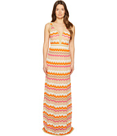 M Missoni - Ombre Zigzag Maxi Dress