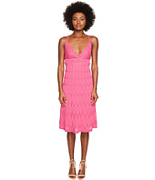 M Missoni - Solid Knit Skinny Strap Dress