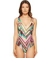 M Missoni - Retro Zigzag One-Piece