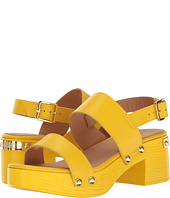 LOVE Moschino - Chunky Wooden Sandal