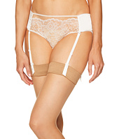 ELSE - Yasmine Silk & Lace Hipster with Removable Suspenders