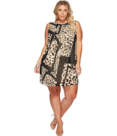 Calvin Klein Plus - Plus Size Printed A-Line Dress