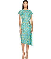 Sonia Rykiel - Roses Print Maxi Dress with Belt