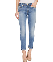 7 For All Mankind - Skinny Crop & Roll w/ Squiggle in Willow Ridge
