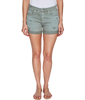 AG Adriano Goldschmied - Hailey Boyfriend Shorts in Sulfur Silver Sage Terrain