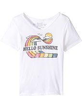 The Original Retro Brand Kids - Hello Sunshine Short Sleeve V-Neck (Big Kids)